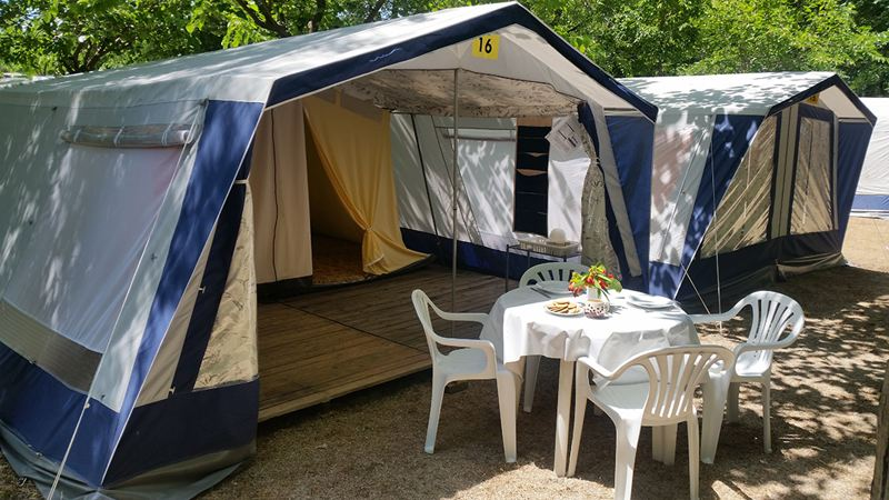 Camping Sabannell, stany